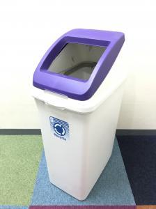 【カラフルな口が特徴的】ゴミ箱