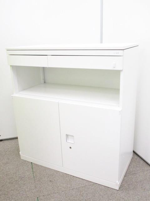 【1台限定!】中古ではかなり稀少!! ロータイプキッチンキャビネット オフィスの台所や休憩室にどうぞ!