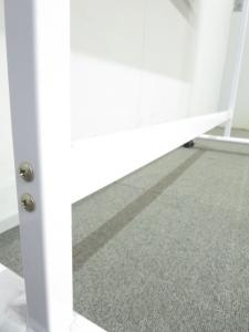 ■片面脚付ホワイトボード【W1200mmサイズ】■会議・打合せにオススメ!【オフィスの必需品】|ホワイトボード 白板 オフィスボード 黒板