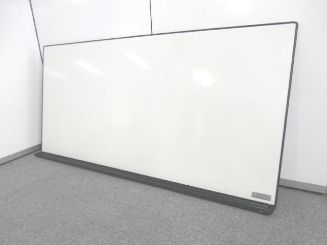 【ホーロー製の国産メーカー壁掛け用大型ホワイトボード】■コクヨ製 ■ホーロー製