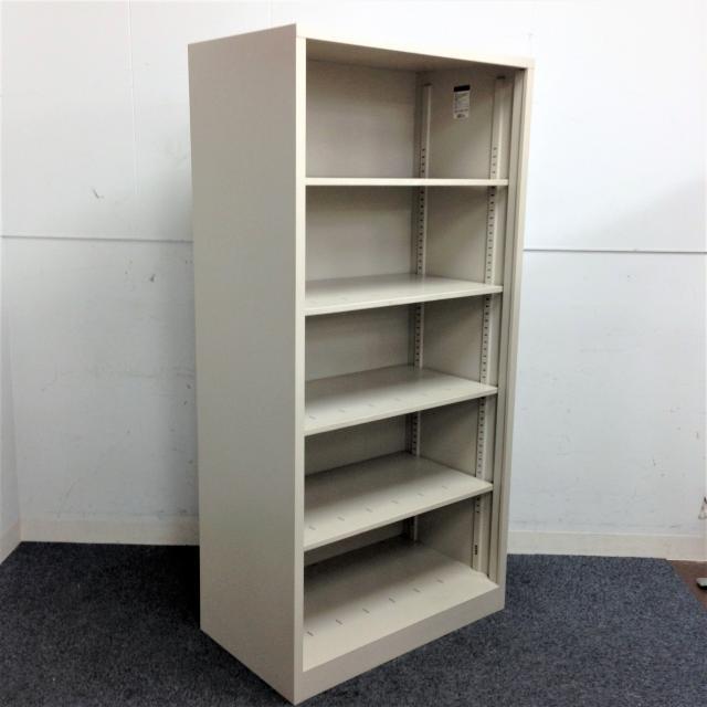 【レア!奥行きゆったりサイズ】3台揃います!取り出しやすいオープン書庫|