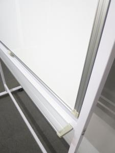 【オフィス会議の必需品!】■両面脚付ホワイトボード【W1200mmサイズ】|ホワイトボード 白板 オフィスボード