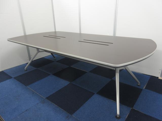 【限定1台入荷です!!】重厚感漂う幅2400㎜の大型テーブル!!【グッドデザイン賞受賞商品】
