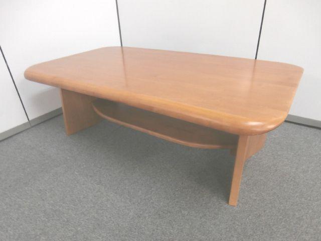 【応接用テーブル・木目・段付き】■テーブル ■応接用