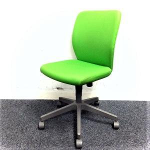 【限定価格】シンプルな操作性と快適な座り心地!! オフィスを明るくするライトグリーン!!【おつとめ】