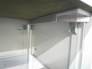 【レイアウト自在のキャスター付】■オカムラ製 ワークテーブル(W1400mm)ホワイト■【フリーアドレスオフィスにフィット!】[Aption Free](中古)