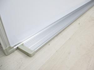 [壁掛けタイプ]ホワイトボード/両面無地 W1800mm【事務用品】 【オフィス家具】|-
