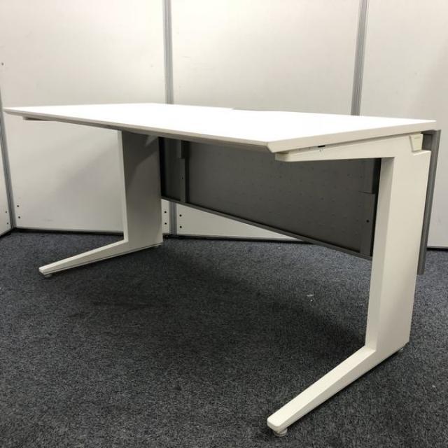 【ホワイト色】オカムラ製 平机 プロユニット W1400仕様