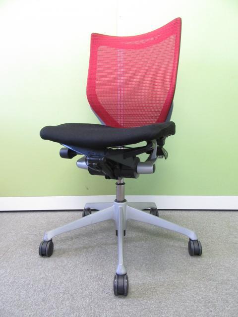 【快適な座り心地を生み出すエルゴノミクスチェア!!】オカムラ製 バロンチェア【A00536251】θ