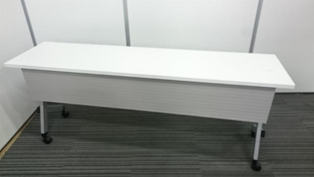 【2017年製】状態良好、美品のサイドスタックテーブル【内田洋行製!】