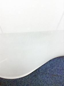 【1枚限定!デザイン製抜群!!】ローパーテーション ホワイト|その他シリーズ(中古)