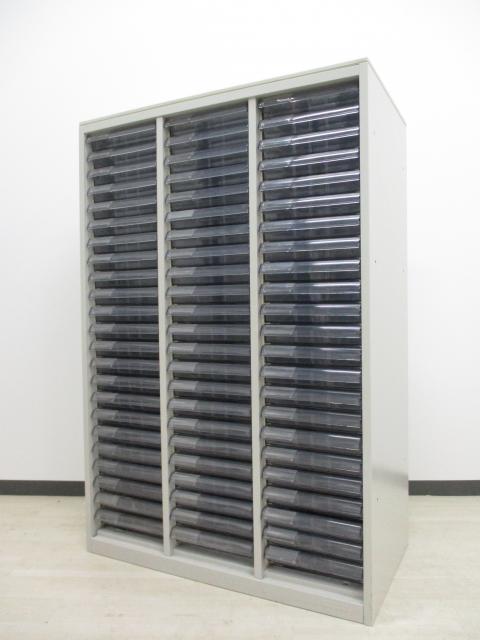 【1台限定‼】23段収納可能!全店在庫数1台のレア品です‼ ライトスモーク色【天板に若干の日焼け有り】