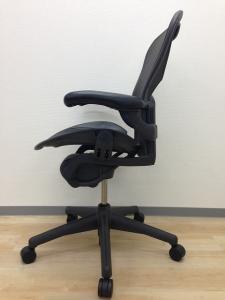 【キングオブキング!】ハーマンミラー製・アーロンチェア【Bタイプ・ランバーサポートタイプ】[Aeron chair](中古)