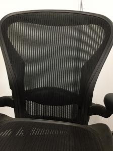 【憧れのアーロンチェアが手に入るチャンスです!】Bタイプ 上下昇降、ランバーサポートのみとシンプルな仕様[Aeron chair](中古)