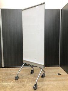 【レア商品入荷!】オカムラ製、ホワイトボード【スタンドボード】【片面】