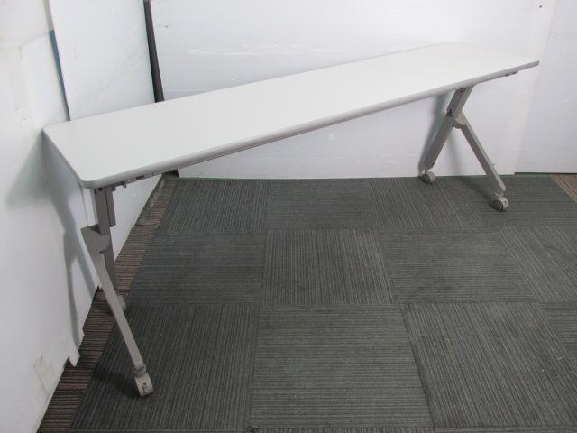 【天板折りたたみ可能】イトーキ製サイドスタックテーブル