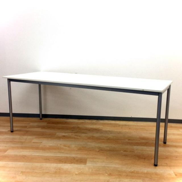 【プラス製】■ミーティングテーブル ■幅1800mm【限定1台】