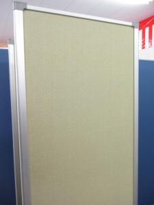 【希少品が1台入荷!!】折り畳めて便利な3連パーテーション【移動も楽々です!!】|その他シリーズ(中古)