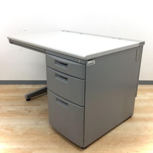 【幅広い用途で使える片袖机】18台のロットで入荷!書類を入れるならこちら!【起業や拠点開設、増員、入れ替えに!】