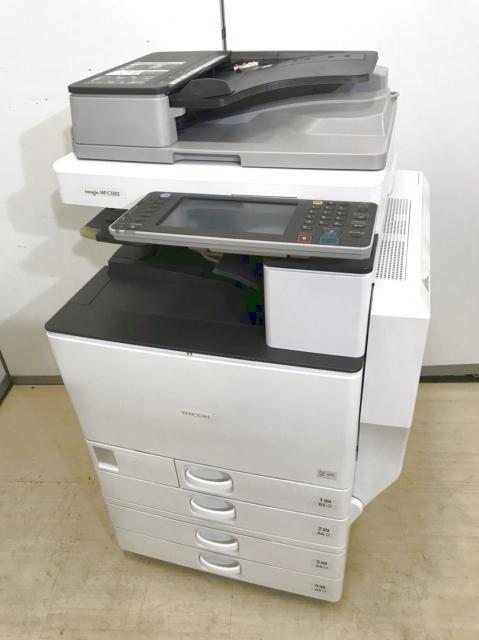 2012年発売の使い易さNo.1のリコー(RICOH)複合機!33枚/分の印刷スピードでストレスなくご使用いただけます。