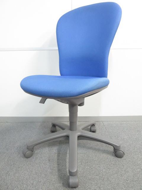 【スタンダードなデザインで座りやすい】■コクヨ レグノチェアー ブルー