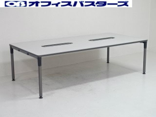 【地方倉庫在庫品】人気サイズ!W2400でD1200のテーブル【RA】【793】