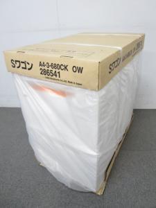 【箱入りの未使用品!】■イナバ製 3段ワゴン【H680mm】 オプティホワイト■フリーアドレスに最適!