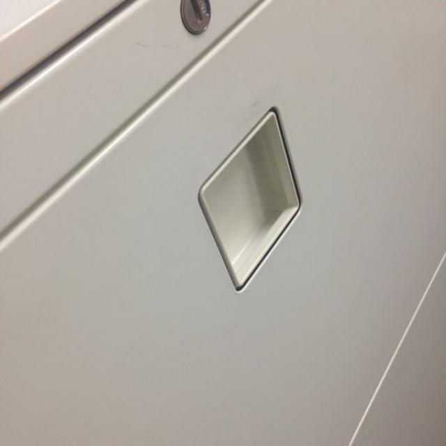 【ホワイト】オカムラのオシャレな書庫!引き出しタイプで使いやすい!【天板付き】【レクトライン】                         レクトライン                                      中古