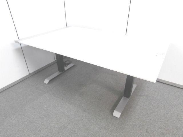 【注目商品!!上下昇降機能付きミーティングテーブル】■コクヨ製 ■ミーティングテーブル ■2017年製 ■ホワイト