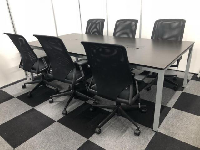 【残り僅か】クールなミーティングスペースにいかがですか?6名様セット!