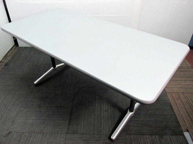 【会議用ミーティングテーブル ☆2~4人用☆】ホワイト色