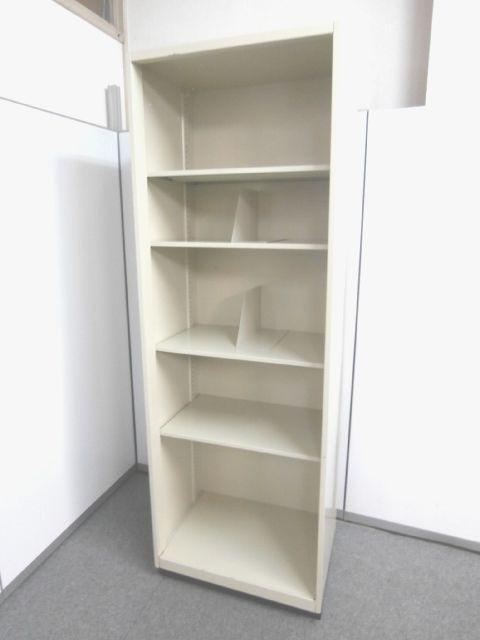 【横幅が細め635mmのオープン書庫】■オープン書庫