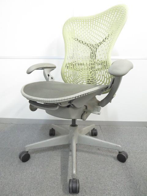 【斬新なデザイン!】■Mirra Chair(ミラチェア) シトロン(ZJ) ■HermanMiller(ハーマンミラー)