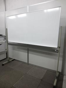 【お持ち帰り可能!】きれいに消せるホーロー加工のホワイトボード!【展示使用品】