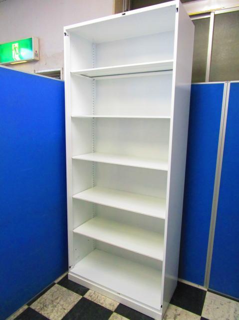 9台揃いますオープン書庫!珍しいハイキャビネットタイプなので、売り切れ御免!【中古オフィス家具】【さいたま市】