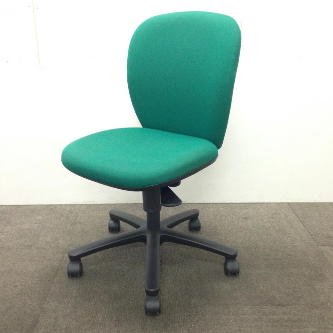 【9月納品までの限定入荷】【限定4脚】オフィスを明るくするグリーン☆