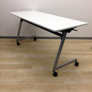 【幕板なしのサイドスタックテーブル/2台在庫有】会議に参加する人数が増えたときのお助け商品です