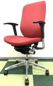 【オフィスチェア】オカムラ ゼファー(Zepher)【事務椅子】スウェード調の柔らかな肌触りはクセになります【おつとめ品】