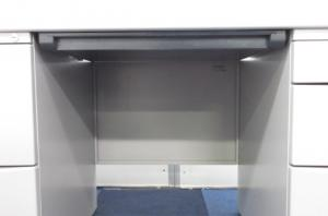 【限定2台入荷!!】収納と作業スペースの両立が可能!!【幅1400mmの広々タイプ!!】[CZ DESK](中古)
