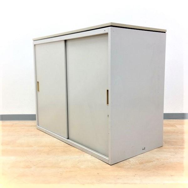 【引き戸で小さいタイプ!場所を取りません!】イトーキ製の定番シリーズ、シンライン!高さ700mmのコンパクトタイプ!