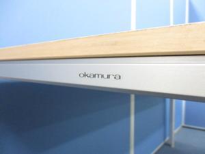 【新品定価は11万円!?】オカムラ製 高品質ミーティングテーブルが入荷!滅多に入荷しないレアなナチュラル!スリムタイプのテーブル!|その他シリーズ(中古)
