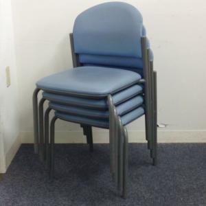 【優しい座り心地】ナイキ製 スタッキングチェア【お得な4脚セット】|その他シリーズ(中古)