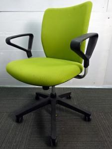 ◆数量1点◆ウチダ製~エポシリーズ~ 自然色のライトグリーンでオフィスを彩ります♪