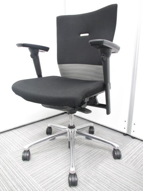 【シームレスタイプ】オフィスチェア 稼働肘 フィーゴチェア オカムラのロングセラー製品