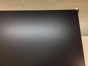 ★黒光り★ブラックの珍しい書庫【漆黒の書庫!】鍵2本付き ベース付き|ICシリーズ(中古)