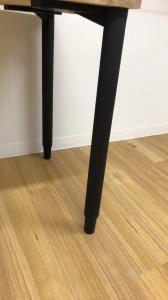 【木が生み出す優しいデザイン!】■木製ワークテーブル ■お好みのサイズでもオーダー可能!【注文生産商品】|パレットテーブル(中古)