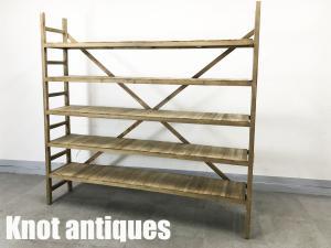 Knot antiques / ノットアンティークス モックシェルフ W2000 クラッシュゲート 関家具