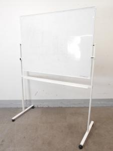 [1台限定]脚付き両面ホワイトボード W1300サイズ