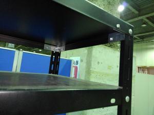 ヴェノムカラーのラックが入荷致しました!!② ボルト式 天地5段 耐荷重:段/70kg ブラック色 ※マテハン本舗の中古商品は、千葉県柏市に在庫がございます。 不明(中古)