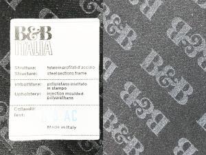 B&B イタリア METROPOLITAN/メトロポリタン4脚セット ラウンジチェア/1Pソファ| (中古)